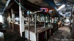 Ditutup Gegara Corona, Pasar Cempaka Putih Sunyi Sepi