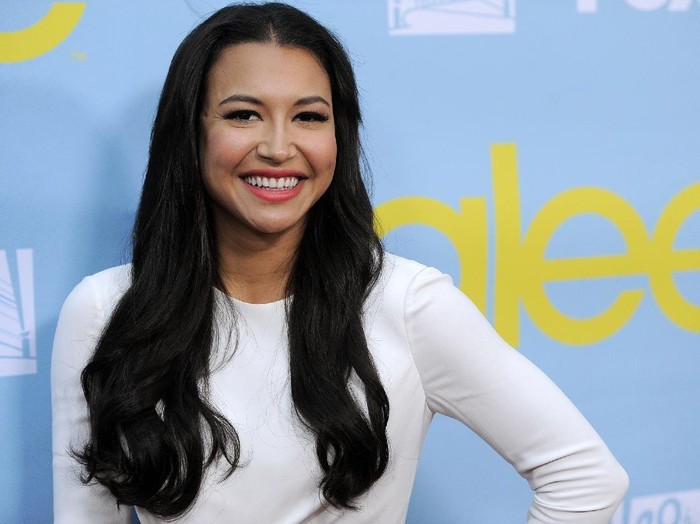 "FILE - Naya Rivera, a cast member in the television series Glee, poses at a screening and Q&A for the show, at the Academy of Television Arts and Sciences in Los Angeles on May 1, 2012. Authorities say a body has been found at a Southern California lake during the search for ""Glee"" star Naya Rivera. The Ventura County Sheriff's Office says in a tweet that the body was found Monday morning, July 13, 2020, in the search of Lake Piru for Rivera, five days after her 4-year-old son was found alone in a boat the two had rented. (AP Photo/Chris Pizzello, File)"