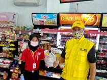 Tingkatkan Semangat, Gojek Bagikan Voucher Sembako ke 10.000 Mitra Driver