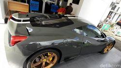 Diduga Hasil Cuci Uang, Puluhan Mobil Mewah Disita