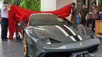 Turun Harga, Ferrari Selundupan dari Singapura Dilelang Rp 6,4 M