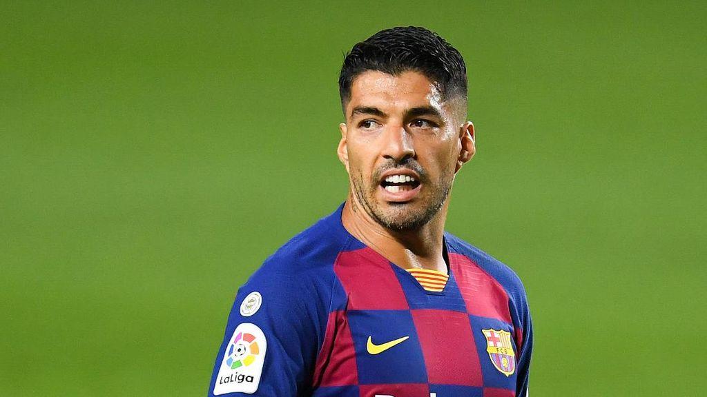 Luis Suarez Berlabuh di Kota Madrid Usai Gagal ke Italia?