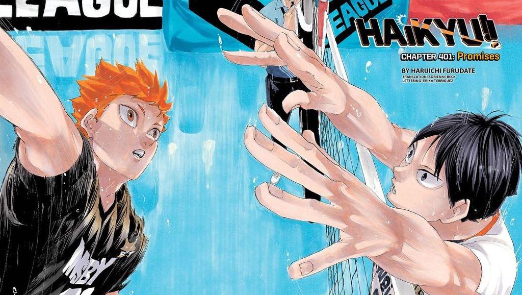 Hinata Trending di Indonesia, Ini Manga Haikyuu!! yang Bakal Tamat