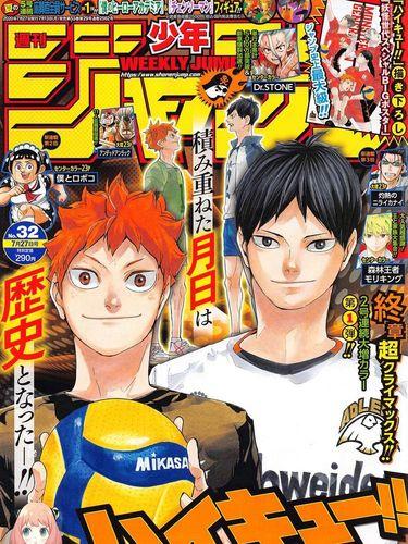 Manga Haikyuu!! Ciptaan  Haruichi Furudate