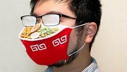 Pakai Masker Ramen Ini Sensasinya Kayak Lagi Makan Ramen!