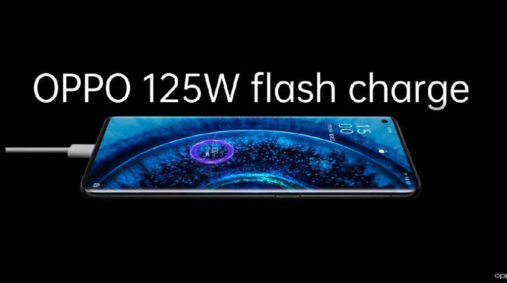 Oppo Rilis 125W Flash Charge, Isi Penuh Ponsel 20 Menit