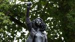 Patung Pedagang Budak di Inggris Diganti Sosok Demonstran Kulit Hitam