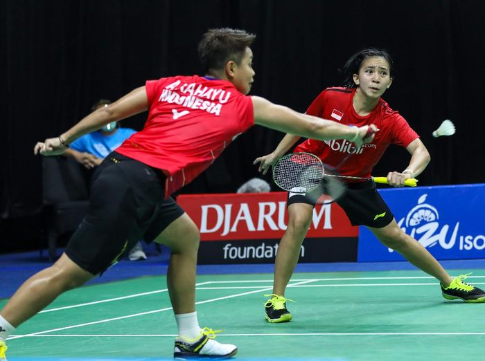 PBSI Home Tournament Ganda Putri Sesi 1