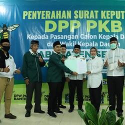 PKB Resmi Kembali Usung Tatu-Pandji di Pilkada Kabupaten Serang
