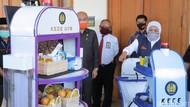 Robot KECE Unesa Akan Bantu Nakes di RS Darurat Indrapura Diserahkan