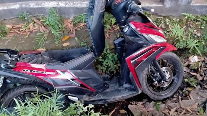 Seorang anggota polisi di Kabupaten Gowa, Sulsel Aipda Indri Sirajuddin tewas dalam insiden kecelakaan lalu lintas (dok. Istimewa).