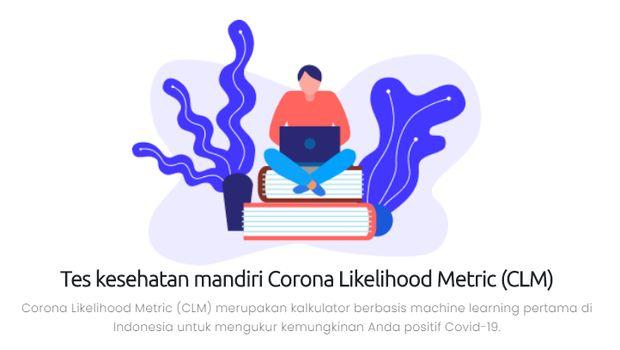 Uji tes pribadi di CLM.