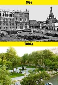 wajah dunia 100 tahun lalu