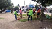 Warga Pati Bandel Tak Bermasker Bakal Disanksi Nyapu-Pungut Sampah