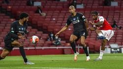 Usaha Liverpool Patahkan Rekor Poin Kandas di Tangan Arsenal