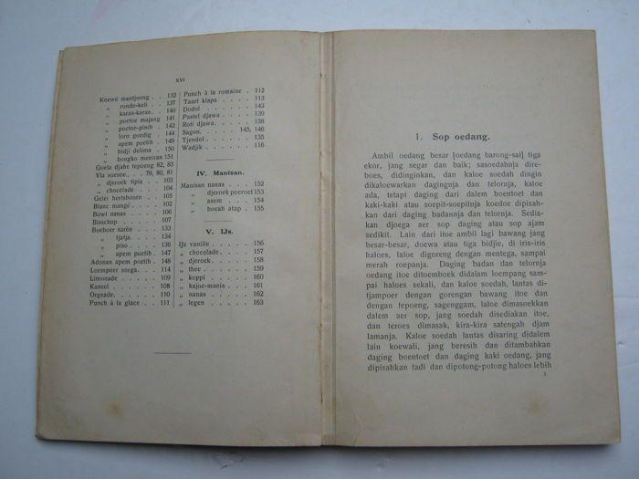 buku masak tertua di Indonesia
