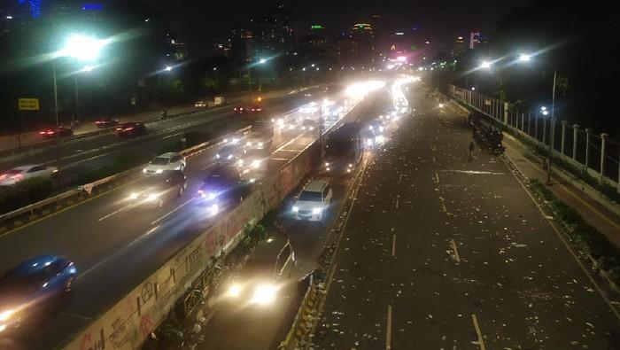 Demi anti-RUU Ciptaker berakhir, Jalan Gatot Subroto kembali dibuka