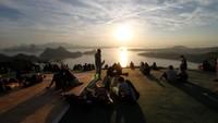 Diberitakan Lonely Planet, sebuah perusahaan perjalanan bernama Kuoni merilis data destinasi wisata terfavorit berdasarkan statistik Google. Mereka memetakan destinasi paling populer yang dicari atau yang menjadi impian orang-orang untuk liburan 2021. Luis Alvarenga/Getty Images