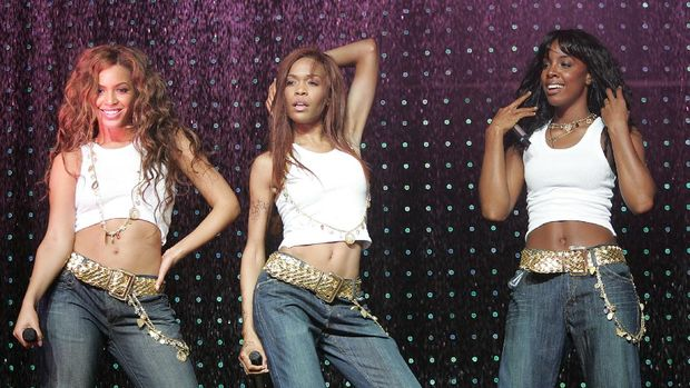 OSLO, NORWAY.- MAY 15:  (L-R) Singers Beyonce Knowles, Michelle Williams and Kelly Rowland of Destiny's Child kick off the European leg of their