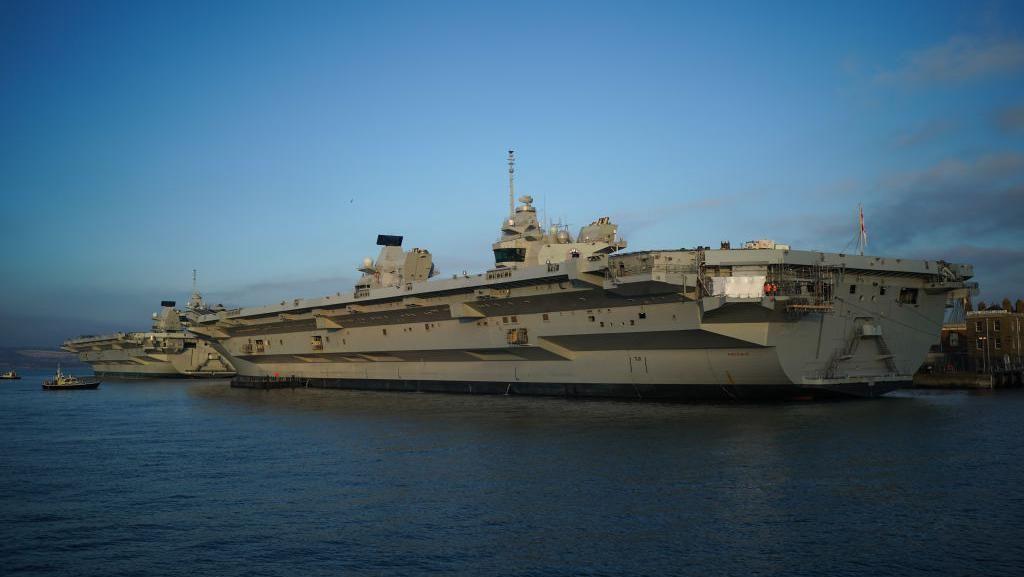 Canggihnya Kapal Induk Inggris yang Akan Gertak China