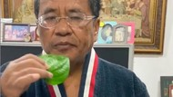 Hotman Paris Kunyah Daun Sirih untuk Cegah Corona, Netizen Soroti Manfaatnya