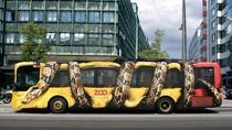 Potret Kreatif Promosi Kebun Binatang di Bus