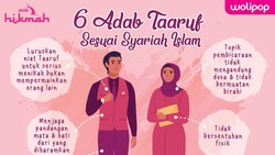Sebelum Menikah, Yuk Kenali 6 Adab Taaruf Sesuai Syariah Islam