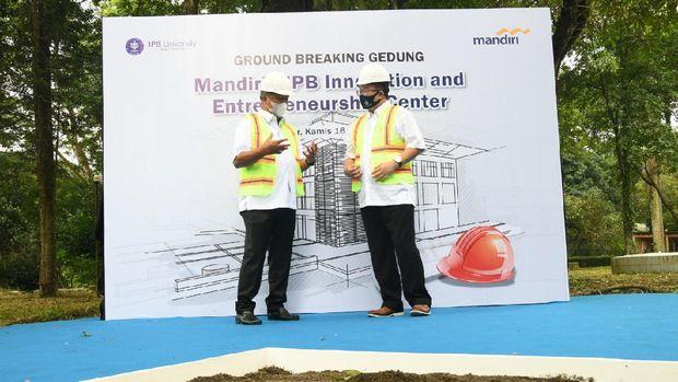 IPB Gandeng Bank Mandiri Dirikan Innovation and Technopreneurship Center