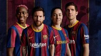 Jersey Barcelona 2020/2021 Diledek Kayak Crystal Palace, Miripkah?