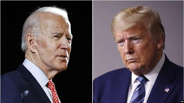 Joe Biden dan Donald Trump (AP Photo)