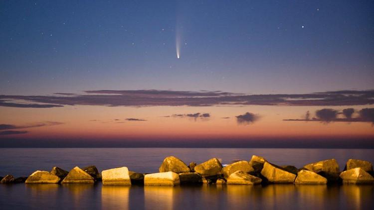 Komet Neowise melewati Bumi dan hanya bisa dilihat sekali seumur hidup