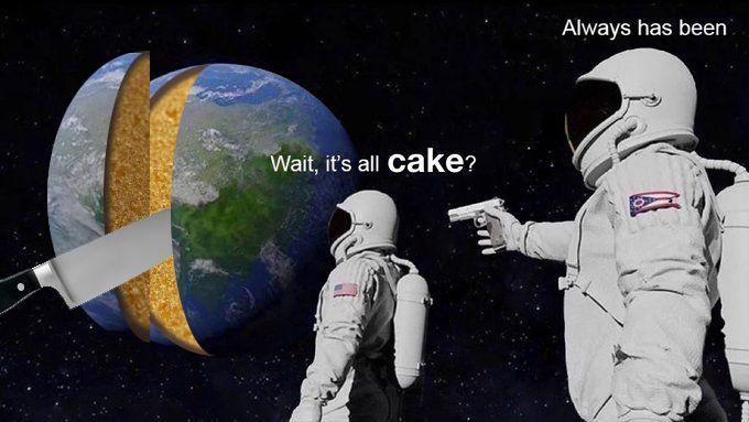 Realistic Cake Jadi Meme di Twitter