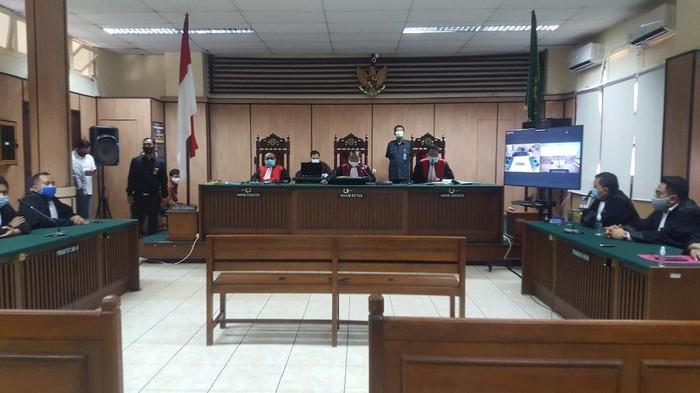 Sidang vonis 2 terdakwa penyerang Novel Baswedan di PN Jakarta Utara, Kamis (16/7/2020).