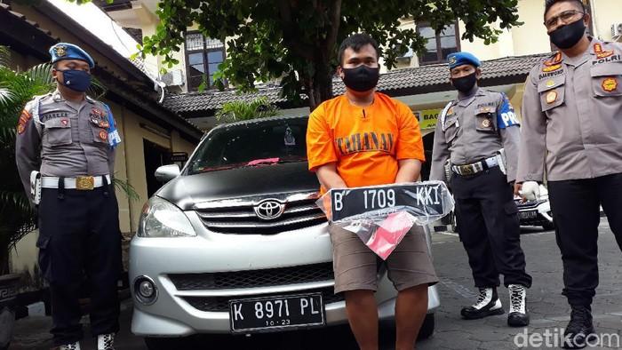 Pencuri spesialis rumah sakit yang diamankan Polresta Yogyakarta, Kamis (16/7/2020).
