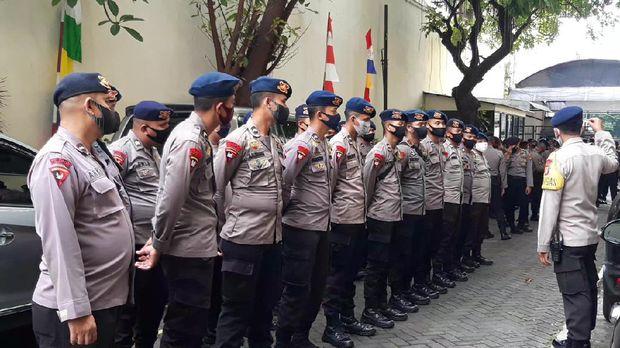 Penjagaan di PN Jakarta Utara diperketat