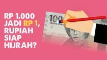Podcast Tolak Miskin: Rp 1.000 Jadi Rp 1, Rupiah Siap Hijrah?