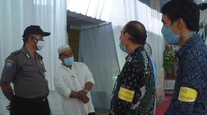 Polisi memberikan imbauan kepada pihak penganten di Kabupaten Bekasi untuk membatalkan resepsi pernikahan