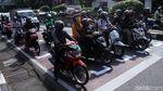 Physical Distancing untuk Kendaraan di Jalanan Kota Bandung