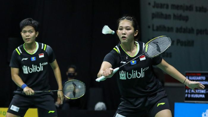 Ribka Sugiarto di PBSI Home Tournament