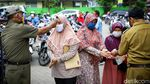 Penyaluran Bantuan di Tangerang Terapkan Protokol Kesehatan