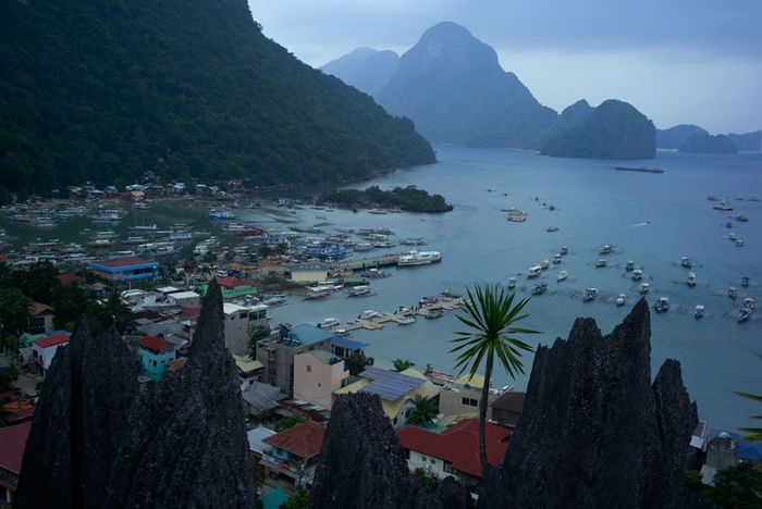 EL NIDO, PHILIPPINES - SEPTEMBER 16: A view of the town of El Nido, one of the famous tourists destinations in the world, on September 16, 2019 in El Nido,  Philippines.  The island of Palawan in the Philippines took 1.8 million tourists in 2018, a 21 percent rise compared to the previous year. The steady rise of visitors also prompted the rise in numbers of hospitality businesses in the once idyllic island.   With 178 land and environmental defenders murdered over the past six years and 30 confirmed killings last year alone, a recent report by UK-based watchdog Global Witness named the Philippines as the deadliest country for environmental activists. According to the annual report, most land and environmental activists had been murdered while defending their homes, land, and other natural resources from being exploited by mining, logging and agribusiness as countless more have been silenced through tactics such as death threats, arrests, lawsuits, as well as smear campaigns. Claimed as the Philippines Last Frontier for its vast untouched forests and untapped mineral deposits, the island of Palawan is one of the many provinces where attacks on environmental activists take place. Also known as a hotspot for logging and wildlife poaching, the surge in tourism at Palawan has created a strong demand for illegal timber used in hotel construction, which caused the islands forest cover to decline by 16 percent from 1992 to 2011, while fueling violence against environmental defenders within the province. (Photo by Jes Aznar/Getty Images)