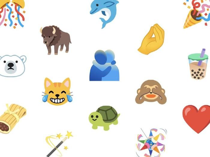 117 emoji baru untuk android 11