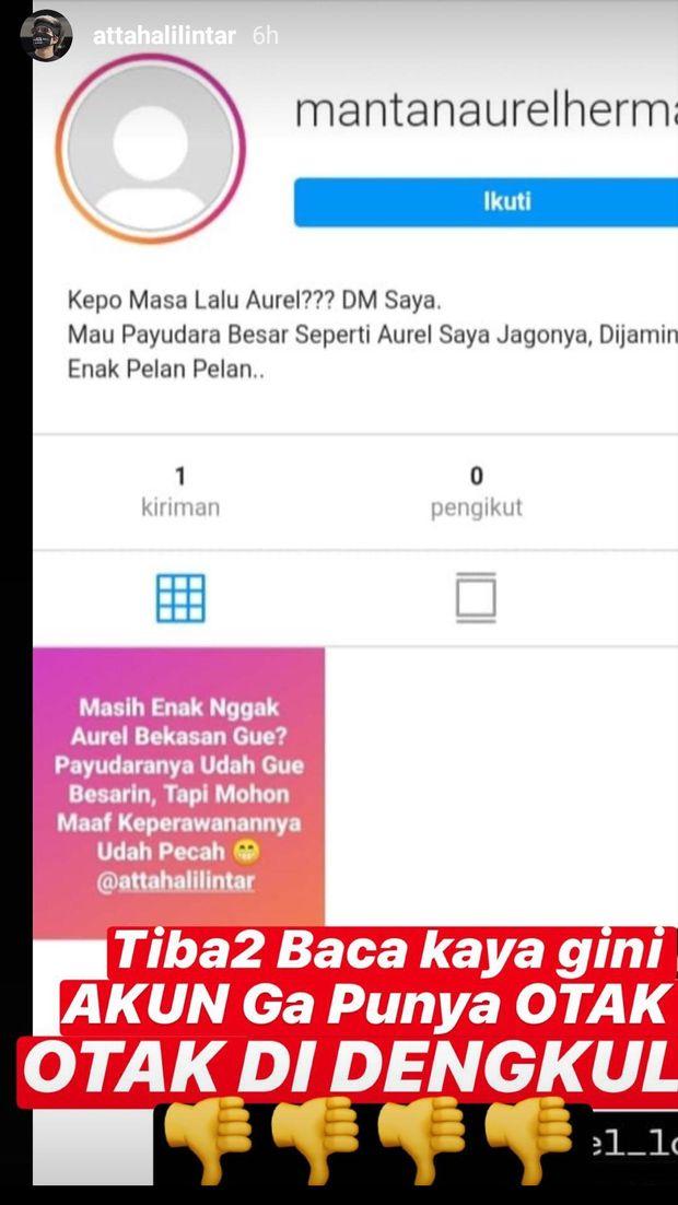 Instagram Stories Atta Halilintar