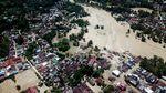 Foto Udara Dahsyatnya Banjir Bandang yang Terjang Luwu Utara