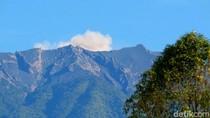 Video Aktivitas Gunung Raung Meningkat, Alami Erupsi