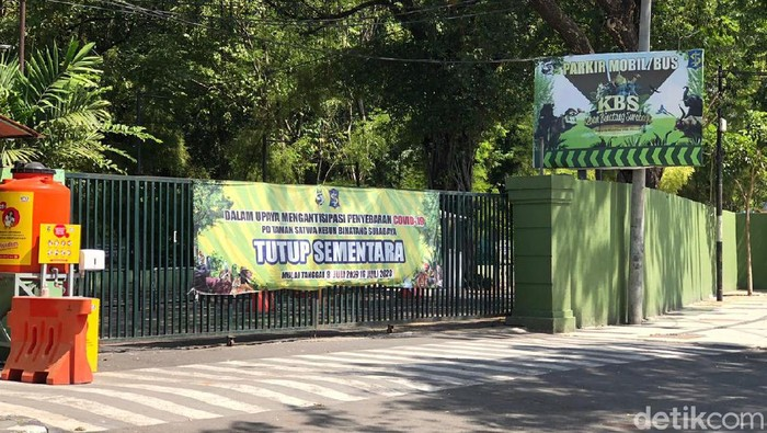 Kebun Binatang Surabaya (KBS) memperpanjang masa penutupan. Penutupan sementara diperpanjang mulai 17-26 Juli 2020.