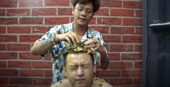 Konten makan nyelenh YouTuber Ericko Lim