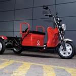 Modifikator Ditantang Rombak Tampilan Motor Listrik Roda Tiga