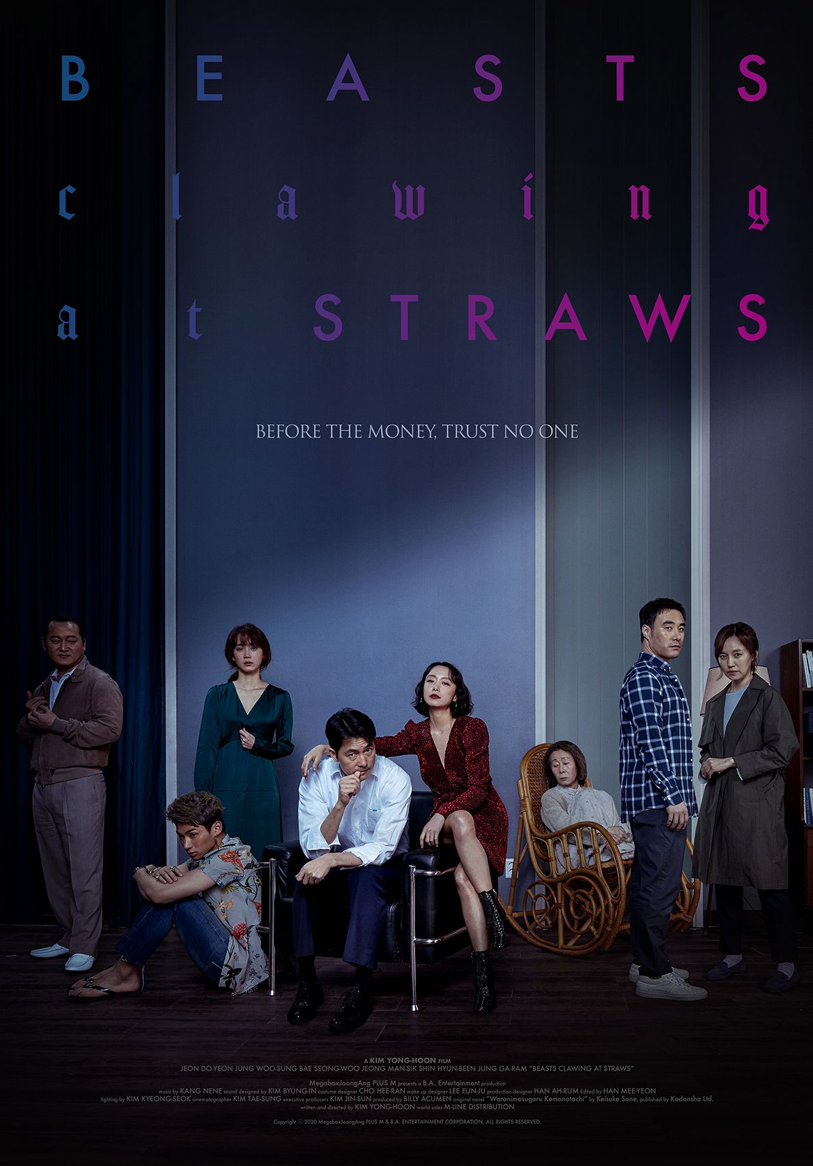 Poster film Korea Beasts Clawing at Straws