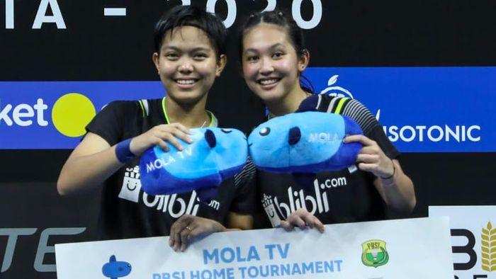 Ribka Sugiarto/Siti Fadia Silva Ramadhanti PBSI Home Tournament